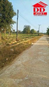 For SaleLandUbon Ratchathani : Land for sale, title deed, area 52-0-72 rai, Huai Fai Pattana Subdistrict Trakan Phuet Phon District Ubon Ratchathani Province Near Tesco Lotus Teacher Trakan Phuet Phon