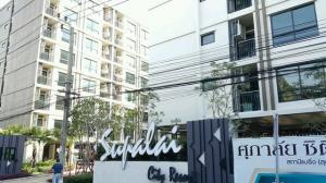 For RentCondoBangna, Lasalle, Bearing : For Rent Supalai Supalai City Resort Bearing station Sukhumvit 105
