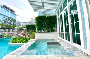For SaleCondoPattaya, Bangsaen, Chonburi : Condo for sale next to Na Jomtien beach 1 bedroom with private pool 7.15 million baht