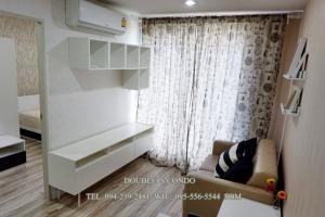 For RentCondoRama5, Ratchapruek, Bangkruai : # Condo for rent Sammakorn S9 Condominium Rattanathibet (S9 Sammakorn Rattanathibet) size 28 sq m, Building D, 4th floor, 1 bedroom, 1 bathroom, rental fee 5,500 baht / month