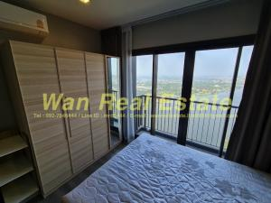 For RentCondoRattanathibet, Sanambinna : For rent, politan aqua, 52nd floor, size 31 sq m, river view, fully furnished, ready to move in (new room)