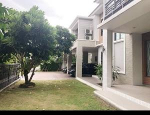 For RentHouseRamkhamhaeng,Min Buri, Romklao : Rent or sell 2-storey detached house, Perfect Place Ramkhamhaeng 164 project, ready to move in.