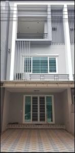 For RentTownhouseRama5, Ratchapruek, Bangkruai : 3-storey townhome for rent near The Mall Ngamwongwan, Tiwanon Road 38