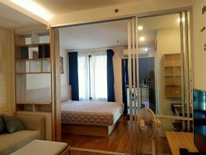 For RentCondoRama3 (Riverside),Satupadit : For rent, U Delight Resident Riverfront Rama 3, beautiful room, new arrival, 1 bedroom, 1 bathroom, size 34 sq.m., 10th floor with furniture and appliances. Ready to move in immediately