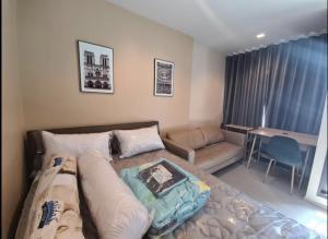 For RentCondoRama9, RCA, Petchaburi : Urgent 12,500🔥 Life Asoke Rama9, room 26 sqm., Beautiful room, high floor, ready to move in 092-249-7892