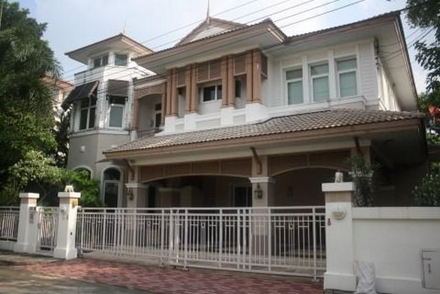 For RentHouseNawamin, Ramindra : 2 storey detached house for rent in Ramindra area Bangkok Boulevard Village (Ramintra - Ratchada)