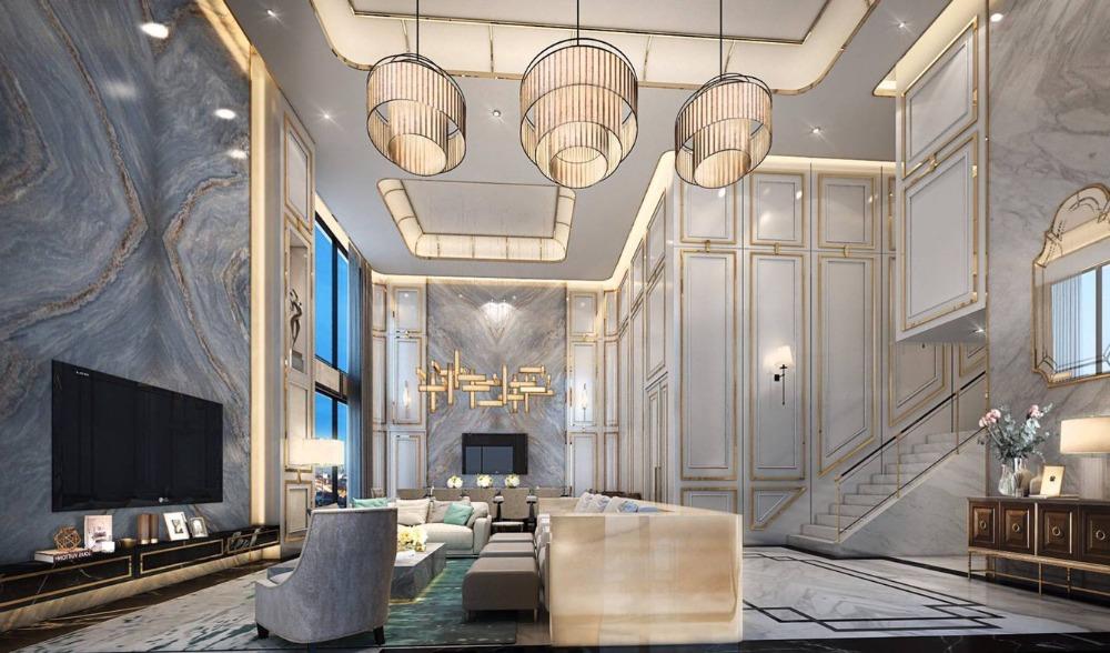 ขายคอนโดพระราม 9 เพชรบุรีตัดใหม่ : +++ขายด่วน+++ THE ESSE at SINGHA COMPLEX ** Penthouse 3 ห้องนอน ขนาด 244.1 ตร.ม .ห้องตกแต่ง 23 ล้านบาท