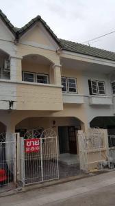 For SaleTownhouseBangbuathong, Sainoi : 2 storey townhome for sale, Bua Thong Thani