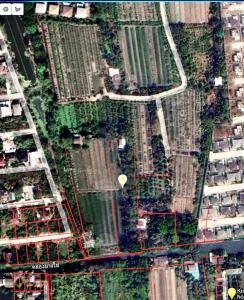 For SaleLandPinklao, Charansanitwong : Land for sale 3-3-44 rai, width 40x166 meters, Soi Somchitprasong, Phutthamonthon Sai 2-Bangwaek