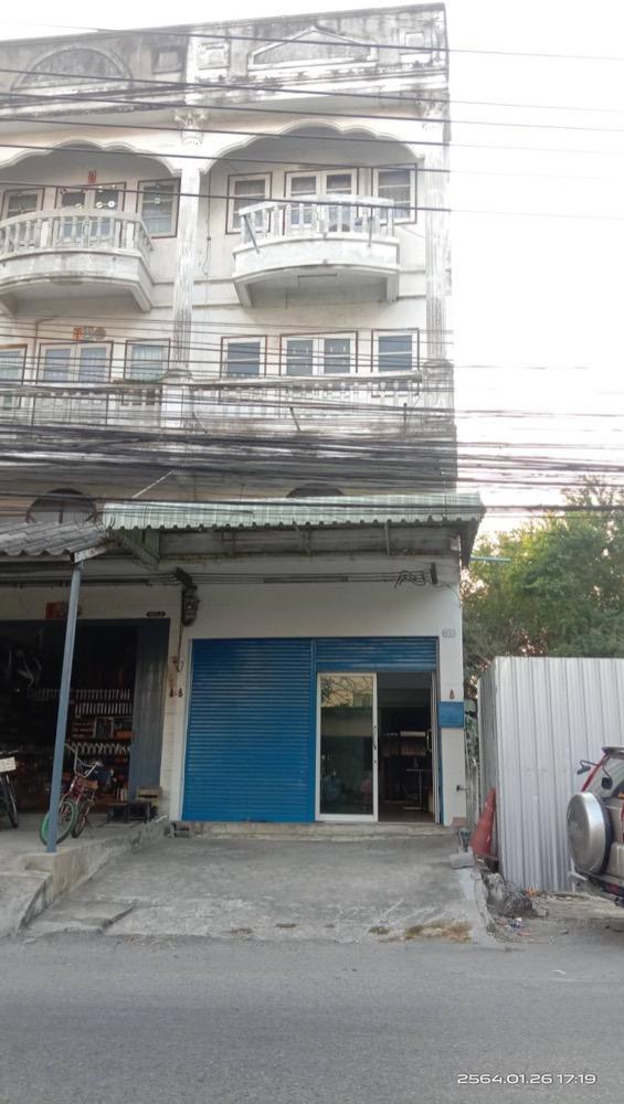 For RentShophouseSamrong, Samut Prakan : 4-storey commercial building for rent 💥 Bang Mueang area Samut Prakan Province