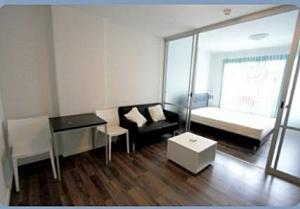 For RentCondoBangna, Lasalle, Bearing : Available 31/01/2564, Condo D Condo Sukhumvit 109 near BTS Bearing.