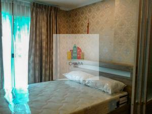 For RentCondoPinklao, Charansanitwong : For rent Lumpini Place Borom - Pinklao, 1st floor, large balcony, garden
