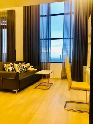 เช่าคอนโดสาทร นราธิวาส : ให้เช่า KnightsBridge Prime Sathon ห้อง Duplex ชั้น 32 แต่งสวย เฟอร์ Buitl-in สวย เครื่องใช้ไฟฟ้าใหม่ครบ