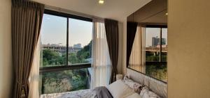 For RentCondoOnnut, Udomsuk : Condo The Nest Sukhumvit 71, Building D, 5th floor, corner room 1B/1B, clear view, peaceful, near BTS Phra Khanong