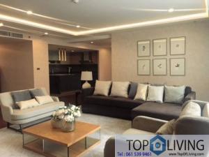 For RentCondoSathorn, Narathiwat : Fully furnished 4 beds for rent at The Hudson Sathorn Soi 7