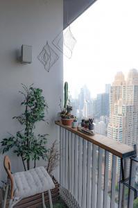 เช่าคอนโดสาทร นราธิวาส : For Rent!!! คอนโดวิวเทพ ใจกลางสาธร  NARA 9  ชั้นสูง
