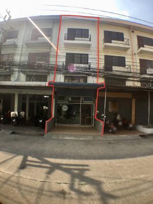 For SaleShophouseRangsit, Patumtani : Commercial building for sale, Benjasup Village, Khlong 6, Thanyaburi, 3.5 floors, size 16 sq.wa, Thanyaburi District, Pathum Thani Province