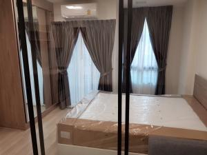 For RentCondoVipawadee, Don Mueang, Lak Si : New🎉🎉 The newest room for urgent rent, Plum Condo, Saphan Mai, 1 bedroom, 4th floor, Building A, price 7,000 baht.