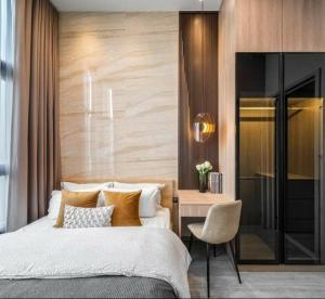 เช่าคอนโดอ่อนนุช อุดมสุข : 💕 ให้เช่าห้องสวยมาก ตกแต่งหรูหรา คอนโด The Line 101 ขนาด 28 ตรม. ใกล้ BTS ปุณณวิถี