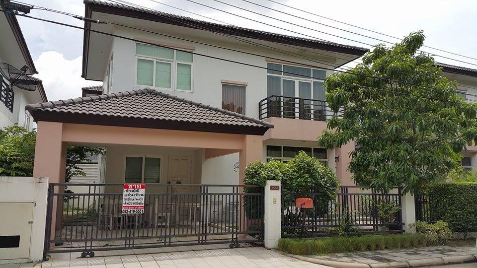 For SaleHouseNawamin, Ramindra : House for sale Rasa Watcharaphon, Watcharaphon Road, area 56 square meters, near the new road