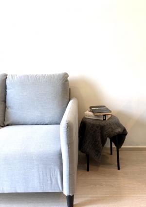 ขายคอนโดอ่อนนุช อุดมสุข : ขาย 1 ห้องนอนสวย ตกแต่งแบบมินิมอล ใกล้ BTS พระโขนง ทาสีใหม่ + new furtinure