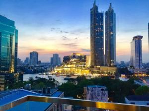 For SaleCondoSathorn, Narathiwat : ★ ☆ For Sale 1 Bed 54 Sqm. Fully-Furnished River + Iconsiam View ★ ☆