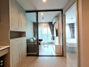 For RentCondoLadprao, Central Ladprao : 💕 For rent, Life ladprao Condo, Building B, decorated with marble pattern, very beautiful, 1 bedroom, ready to move in