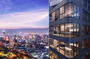Sale DownCondoSukhumvit, Asoke, Thonglor : 【Cheapest !! The room fell down before transfer】 👑💎ASHTON ASOKE 💎👑 1 BED ▶ 6.9x million