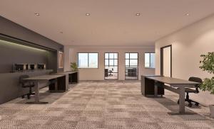For RentOfficeSukhumvit, Asoke, Thonglor : Charn Issara Tower2 size 100 sqm on high floor Office room for rent near Ekkamai-Thonglor