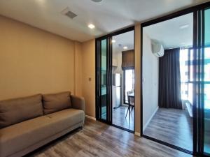 เช่าคอนโดรัชดา ห้วยขวาง : [ปล่อยเช่า] Brown Condo รัชดา-ห้วยขวาง 1  Bed Exclusive 1 ห้องนอน ครัวแยก ขนาด 24.98 ตร.ม. ชั้น 8  วิวเมือง