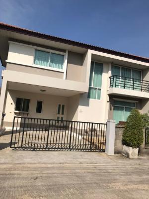 For RentHouseLadkrabang, Suwannaphum Airport : House for rent at Casa Premium On Nut-Wongwan.4 bedrooms / 3 bathrooms, 167 square meters, 52 square meters