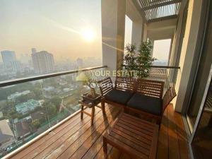 For RentCondoSathorn, Narathiwat : Luxury condo for rent The Sukhothai Residences - Beautiful decoration with morning heaven view