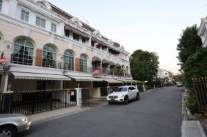 For RentTownhouseRamkhamhaeng, Hua Mak : Townhome for rent, Plus City Park Rama9-Huamark, next to ABAC Hua Mak, convenient transportation.