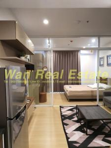 For RentCondoSathorn, Narathiwat : Condo for rent, Supalai Lite Ratchada, Narathiwat, Sathon, size 34 sq.m., 6th floor, fully furnished, ready to move in.