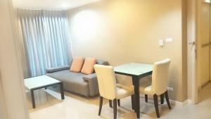 For RentCondoRamkhamhaeng, Hua Mak : Inspire Place ABAC Rama 9, size 60 sq m, 2 bedrooms, 8th floor, 14,000 baht 064-959-8900.