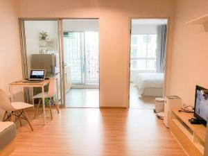 เช่าคอนโดบางแค เพชรเกษม : คอนโด เดอะนิช ไอดี บางแคห้องใหญ่ขนาด 35 ตารางเมตร 1 ห้องนอน 1 ห้องน้ำ *ห้องใหม่ เพิ่งแต่งเสร็จ