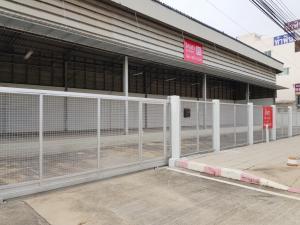 For RentShowroomNakhon Pathom, Phutthamonthon, Salaya : Land for rent with warehouse, product show, area 187 square wa, next to Phutthamonthon Sai 3 road, width 40 m.