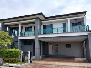 For SaleHouseBangna, Bearing, Lasalle : House for sale The City Bangna Km.7 large house close to Mega Bangna