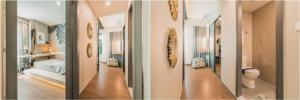 For SaleCondoRatchadapisek, Huaikwang, Suttisan : Ideo Ratchada-Sutthisan 2 bedrooms, 2 bathrooms Sell below half a million dollars !! 58 sq m. South, 10th floor ++, price 5.75 million, call 0963244556