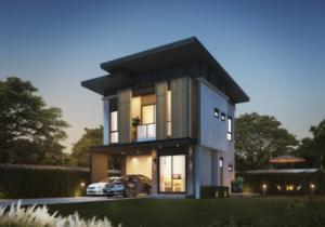 ขายบ้านสำโรง สมุทรปราการ : บ้านเดี่ยวสไตล์ Modern หนึ่งเดียวบนถนนเทพารักษ์  โปร ราคาเดียวลด จาก 7.89 ล้าน เหลือ 6.89 ล้านบาท