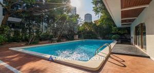 เช่าบ้านสุขุมวิท อโศก ทองหล่อ : Private Pool | House 5+2 Bedroom For Rent BTS Ekkamai in Sukhumvit Bangkok ( 10003601 )