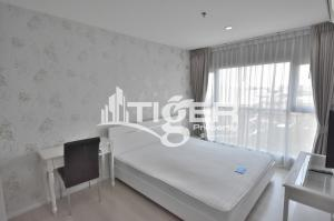 For RentCondoOnnut, Udomsuk : This fully furnished, 2-bedroom / 2-bathroom corner room unit for rent at Aspire Sukhumvit 48, includes a balcony and 1x parking space.