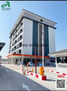For RentOfficeBangna, Lasalle, Bearing : New building for rent For opening an office at Soi Lasalle 53