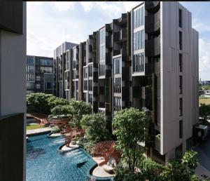 เช่าคอนโดอ่อนนุช อุดมสุข : Kawa Haus Onnut For Rent in T77.  New room