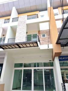 For RentHome OfficeRamkhamhaeng,Min Buri, Romklao : RTJ652 3-storey home office for rent, Nirun Avenue, Soi Ramkhamhaeng 160, Soi Ratpattana 13.