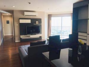 For RentCondoRama9, RCA, Petchaburi : MN493 For rent Belle Grand Rama 9, near MRT Rama 9, size 107 sq m, 3Br., Ready to move in.