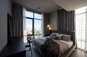 For RentCondoSukhumvit, Asoke, Thonglor : MN500 For Rent The Lofts Asoke, beautiful room, ready to move in, size 75.4 sq.m.