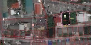For SaleLandOnnut, Udomsuk : Land for sale, Soi On Nut 35, size 158 square meters, road 6 meters wide.