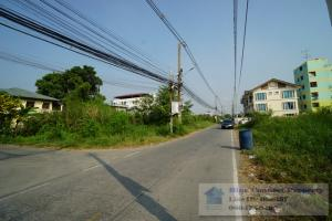 For SaleLandRangsit, Patumtani : Land for sale on the road Soi Rangsit-Nakhon Nayok 2, size 2-2-97 rai, width 174 meters, suitable for building houses, townhouses, townhomes