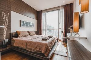 For RentCondoSukhumvit, Asoke, Thonglor : For rent, Quattro Thonglor, 26th floor, size 55 sq m, 1 bedroom, 1 bath, price 45,000 baht.